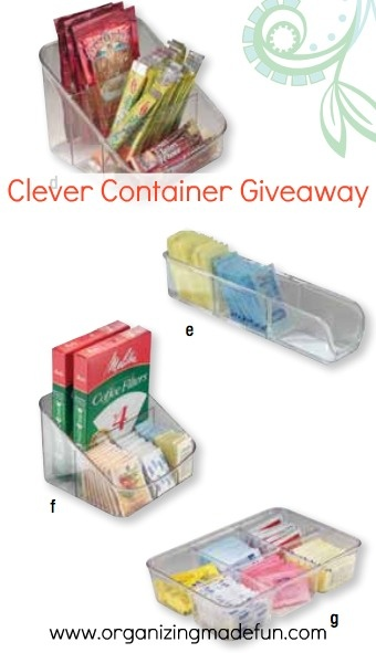Clever Container company has lots of great products!