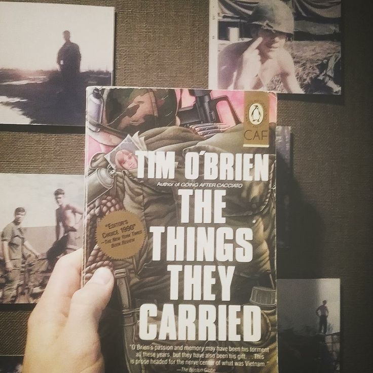 the trauma of war in the things they carried a book by tim obrien Resources compiled for elena cole's english 1a class reading of the things they carried by tim o'brien.