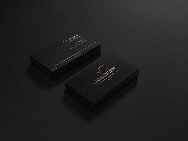 Bjorgesen-Finance-Economy Business Card