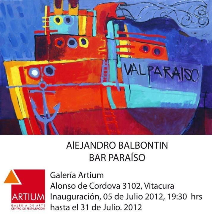 Alejandro Balbontin  http://galeriabalbontin.blogspot.fr/
