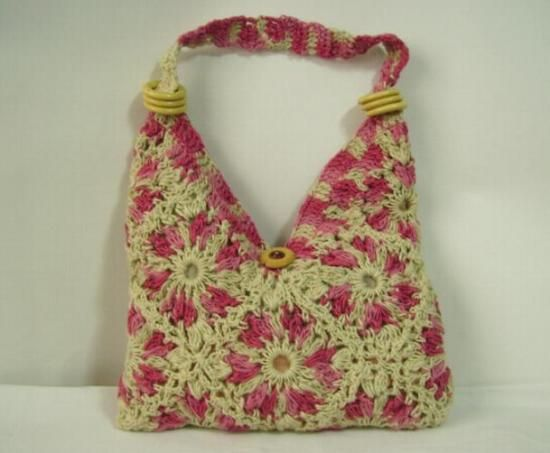 Carteras y bolsos tejidos a crochet paso a paso - Imagui