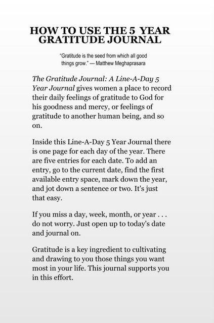 Debt of gratitude essay