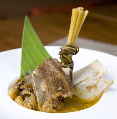 Beef kansi with batuan seeds