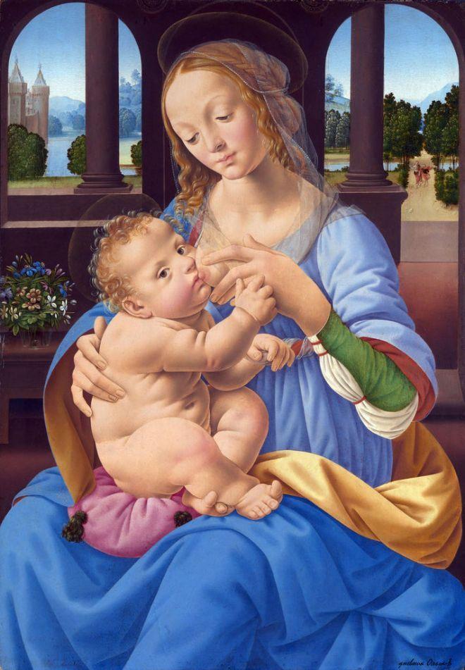 Лоренцо ди Креди (Lorenzo di Credi; прозванный, по отцу, Лоренцо ди-Андреа-д'Одериго (Lorenzo d'Andrea d'Oderigo), 1459-1537.