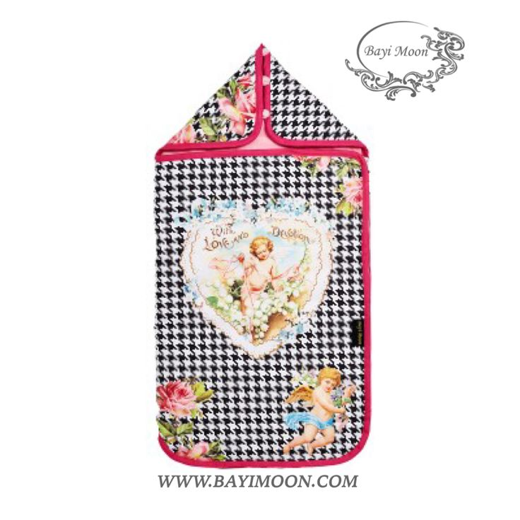 LOVE AND DEVOTION Cosy Cover is a universal footmuff designed for the portable car seat, stroller, travel cot or playpen
