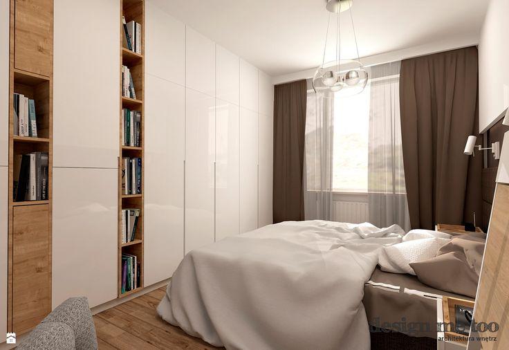 połączenie szafy (u nas z lustrem) z półkami z książkami