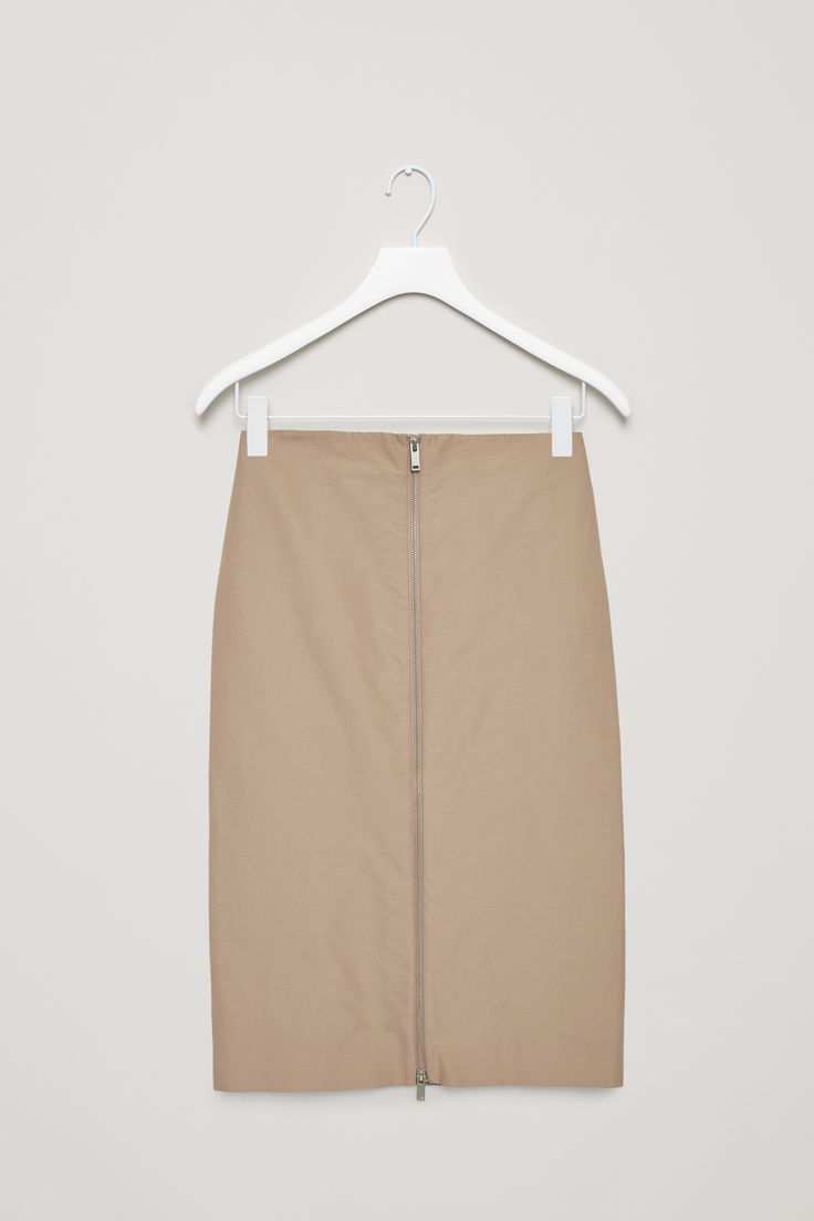 COS | Celebrating 10 years | Technical cotton-mix skirt