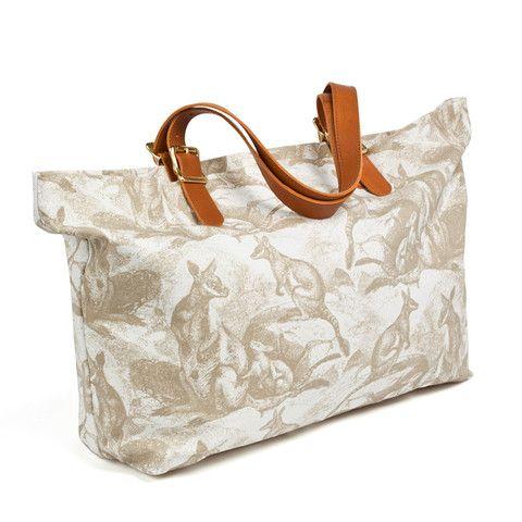 Wallaby Beach Bag – Beige