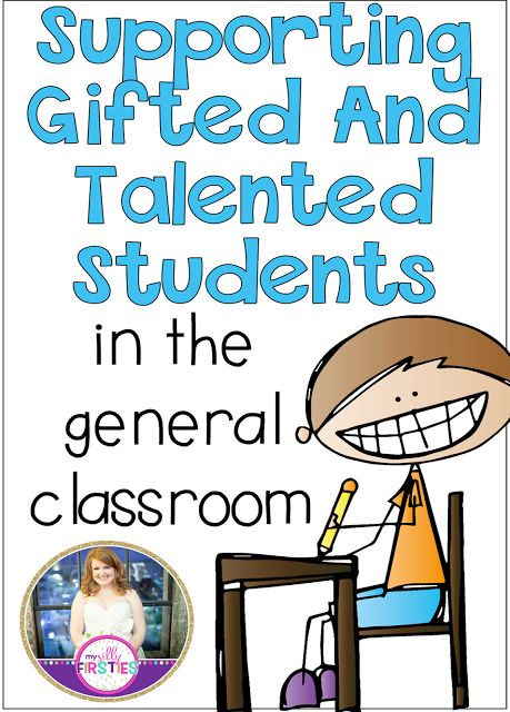 Supporting Gifted and Talented Students. Great blogpost with tons of tips and tricks.