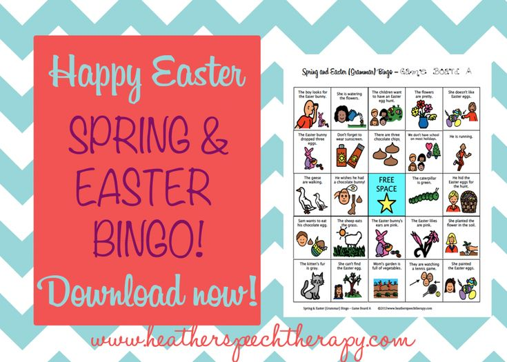 Heather's Speech Therapy: Free Spring and Easter Speech Therapy Materials! Pinned by SOS Inc. Resources. Follow all our boards at pinterest.com/sostherapy for therapy resources.