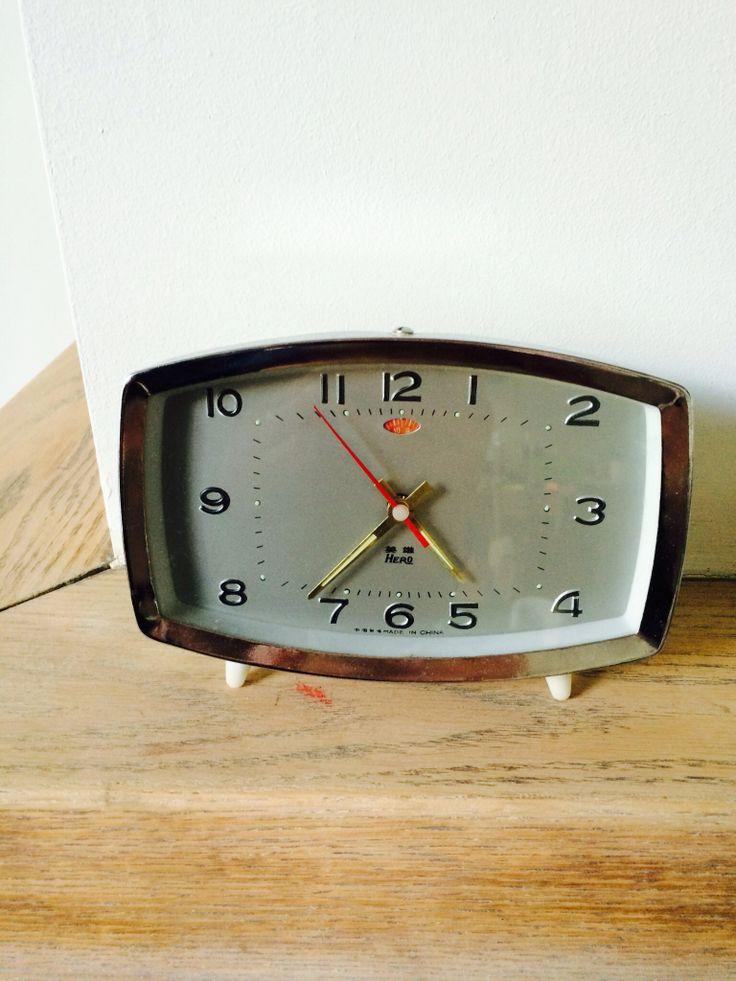 Love this vintage clock