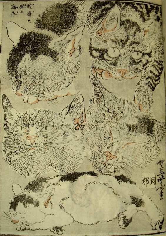 """Kyosai Kawanabe """"Kyosai-Gadan/Kyosai's Treatise on Painting"""",1887,Japan"""