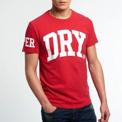 Superdry極度乾燥しなさい メンズ Big Dry Entry T-shirt Tシャツ ★トレンドのビッグロゴにさらに小技を利かしたデザインの春夏オススメTシャツ! ★Dry のビッグロゴにエンボス加工されたJPNロゴが重ねて他と差をつけました。