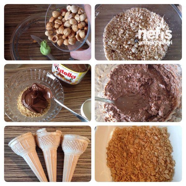 Ev Yapımı Rocher Çikolatası 3