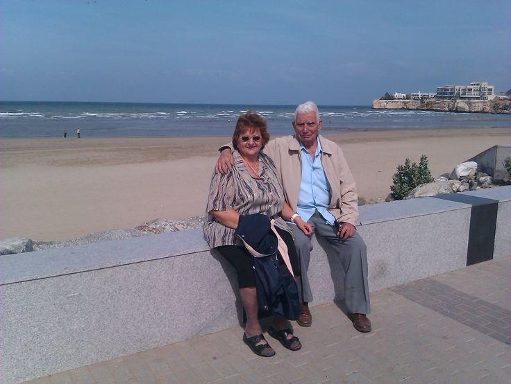 Mam & Dad at Muscat