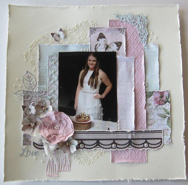 Artdeco Creations Brands: Love Magnolia Layout by Kerrie Gurney