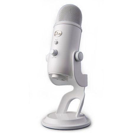 Blue Yeti USB Microphone, Whiteout, White