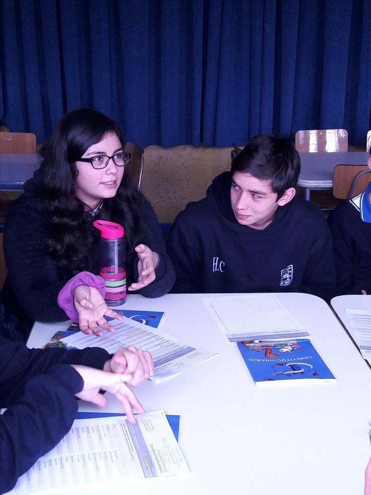 Finalización de cabildos provinciales en nuestro colegio #DaríoSalasHumanistaChillán, donde los alumnos más participativos dieron a conocer sus opiniones con respecto a este proceso. #CDSChillán