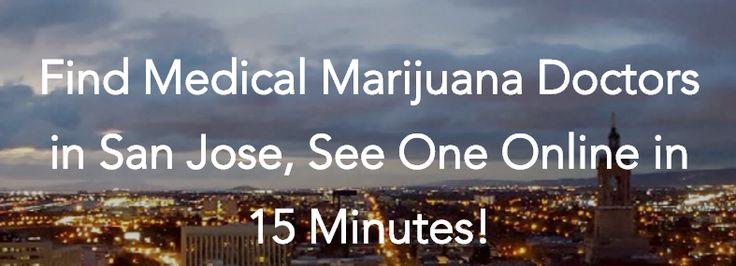 Get a medical marijuana card in San Jose, do your 420 medical marijuana evaluation online! See a San Jose medical marijuana doctor, get your mmj card! https://getnugg.com/md/california/medical-marijuana-card-san-jose