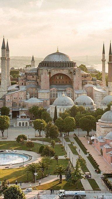 Istanbul TURKEY Ayasofya camisi Fakat ataput müze…