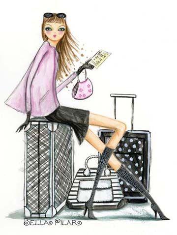 #traveler #viajes #ilustraciones