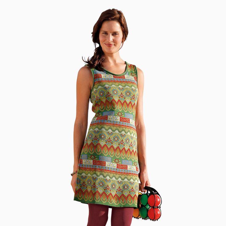 jacquard kleid kleider damen bei waschb r der umweltversand naturmode naturkosmetik ko. Black Bedroom Furniture Sets. Home Design Ideas