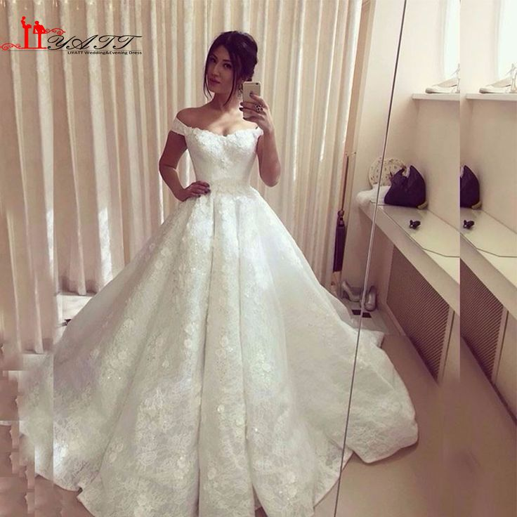 2017 Cap Sleeve Muslim Wedding Dress With Hijab Embroidery Arabic Vestidos De Novia Ball Gown White Lace Bridal Gowns