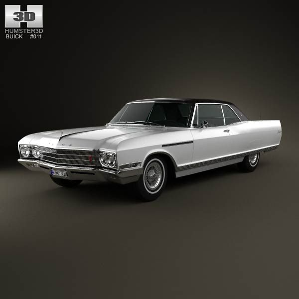 1965 Buick Lesabre For Sale 1950645: Buick Electra 225 Sport Coupe 1966 3D Model