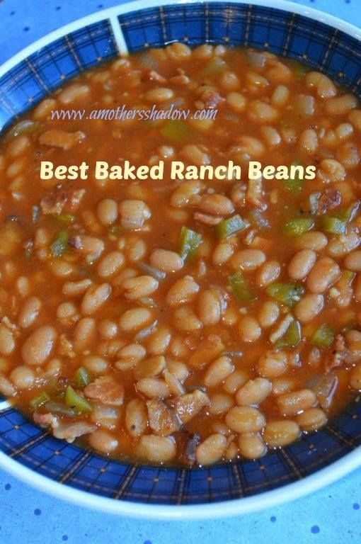 My Best Baked Ranch Beans | My Best Baked Ranch Beans