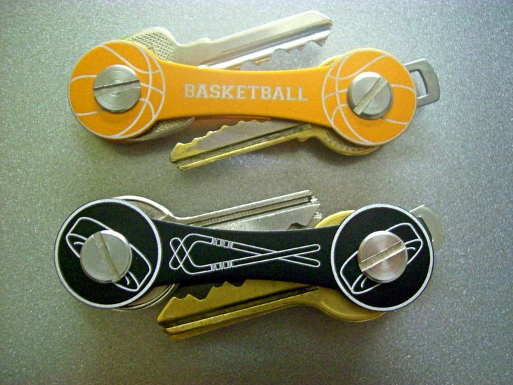 Basketball fans and hockey lovers... Time to get your overweight keys into shape?