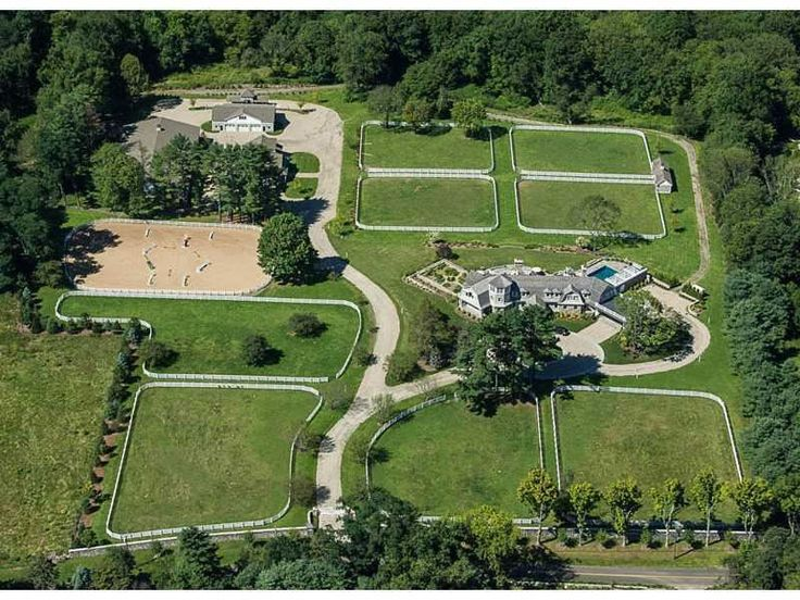 59 best greenwich ct luxury real estate images on for Horse farm design