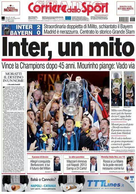 Inter, un mito