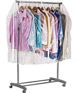 Clothes Tidy Rail Cover.