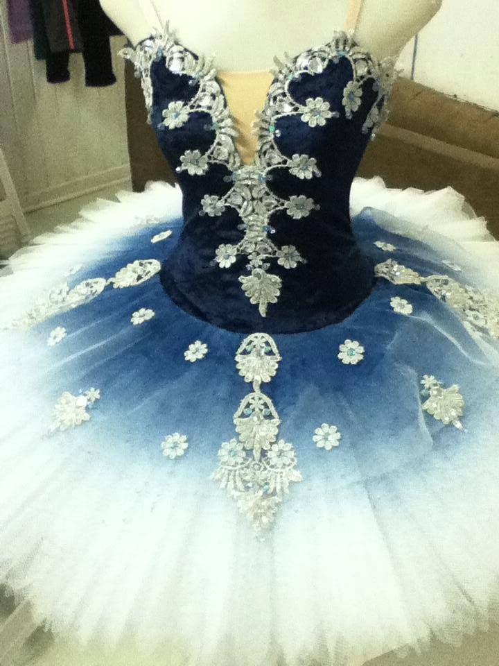 I feel like this could be a very pretty snowflake tutu for Nutcracker