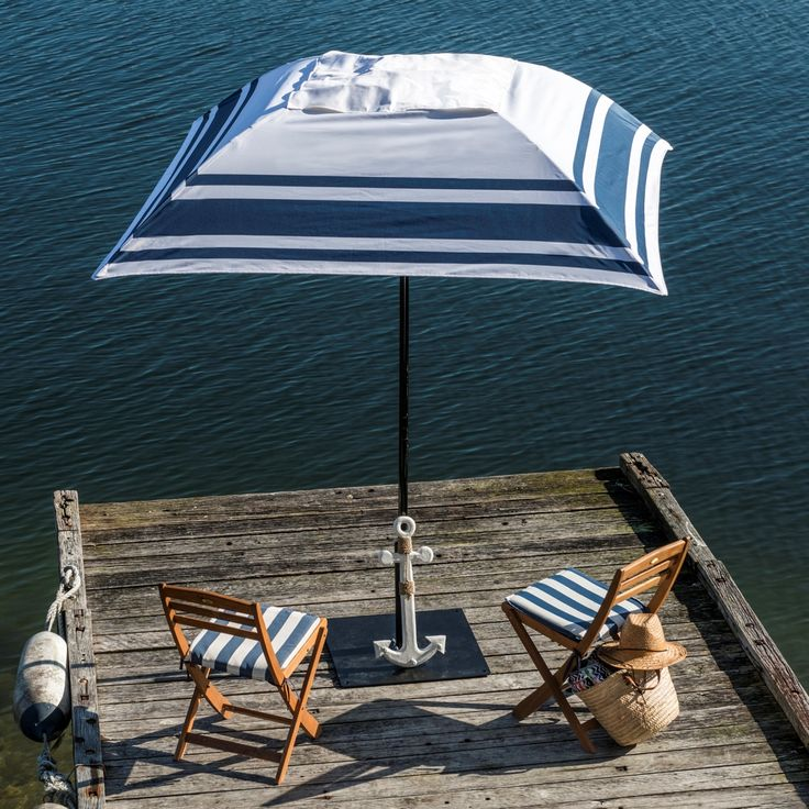 Duchess & Deco custom designed outdoor umbrellas.
