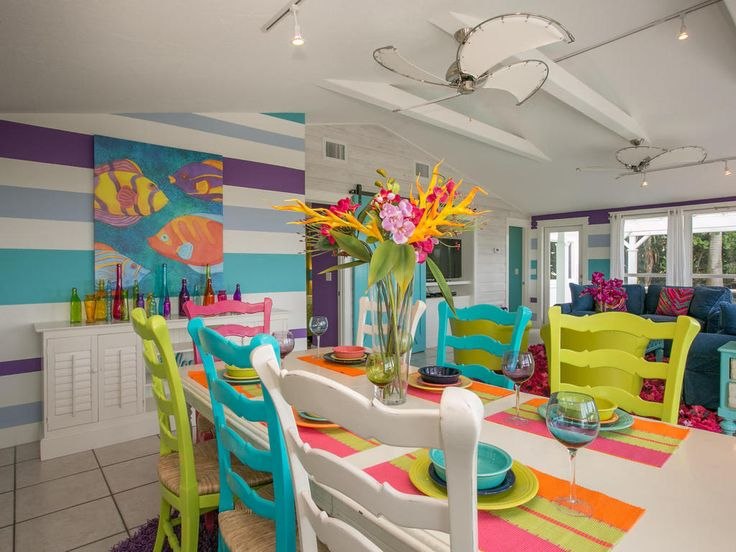 One of the best things about Limefish is the vibrant interior furnishings in every room. The bright colours add a positive style that we love with the original artwork and fun decor.