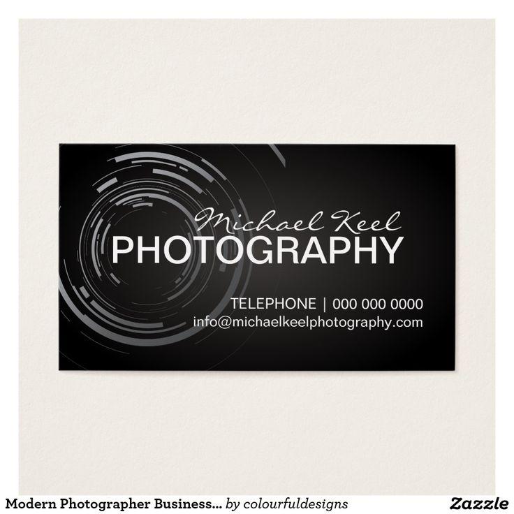 Moderne Fotograf-Visitenkarten Visitenkarte Visitenkarten