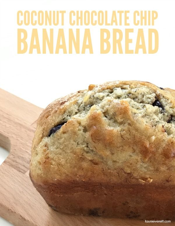 Looking to step up your banana bread game? Check out this Coconut Chocolate Chip Banana Bread recipe. It's perfect for busy weekday mornings or as a dessert