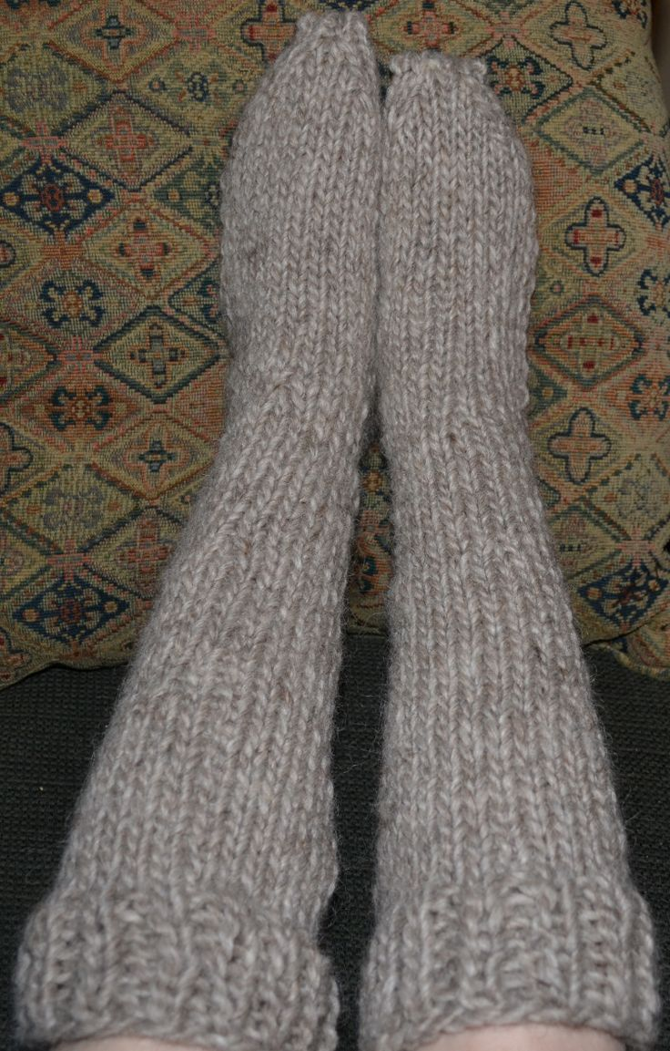Try Your Hand at Knitting These Adorable Toddler Socks | Knee socks ...