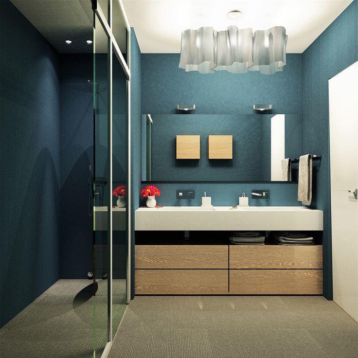 OPERASTUDIO - Project - Apartment renovation - view #nyc #renovation #italandesign #bathroom #artemide logico #mutina