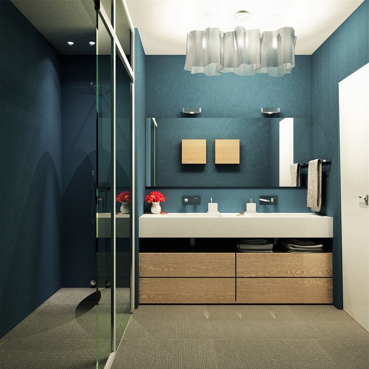 OPERASTUDIO - Project - Apartment renovation - view #nyc #renovation #italandesign #bathroom #artemide logico #mutina