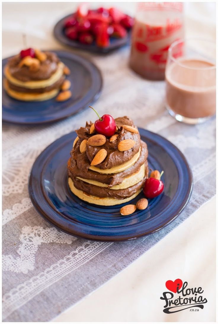 I Love Pretoria | Chocolate Mousse Flapjack Stack Recipe | And its healthy!