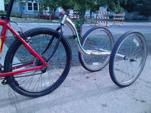 Simple No-Weld Bike Trailer                                                                                                                                                     More