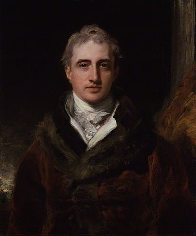 Robert Stewart, Viscount Castlereagh (1769-1822), later Lord Londonderry.