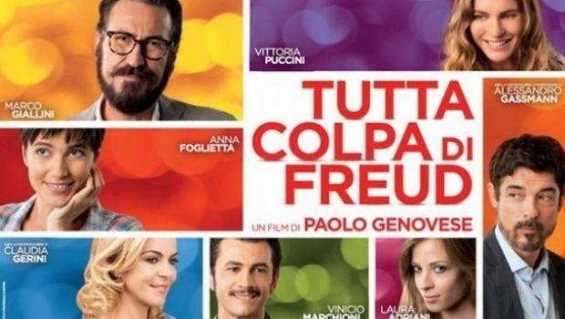 """Stasera in tv su Canale 5: """"Tutta colpa di Freud"""""""