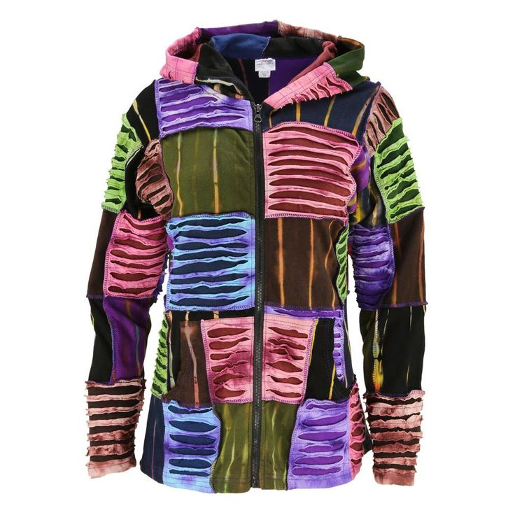 Twilight Traveler Patchwork Hooded Jacket : The Animal Rescue Site