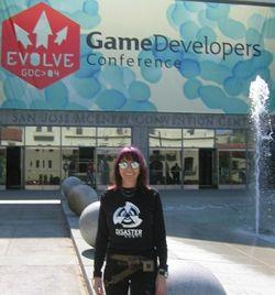 Portrait de femme: Ann Holvoet, responsable de production chez Disaster Games