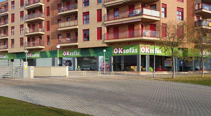 Tienda #OKSofás en #Lleida