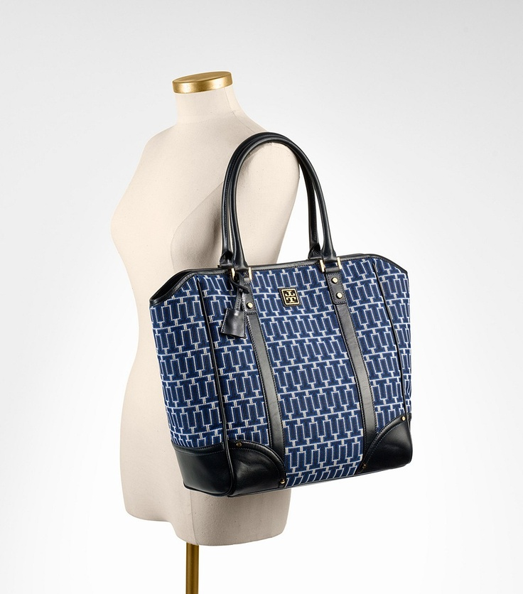 Tory Burch needlepoint tote