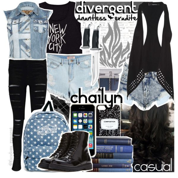Divergent, dauntless, and erudite by am-i-not-fictional on Polyvore featuring…